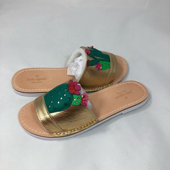 fd7c7e5e573c kate spade Shoes - Kate spade iguana cactus slides 7.5